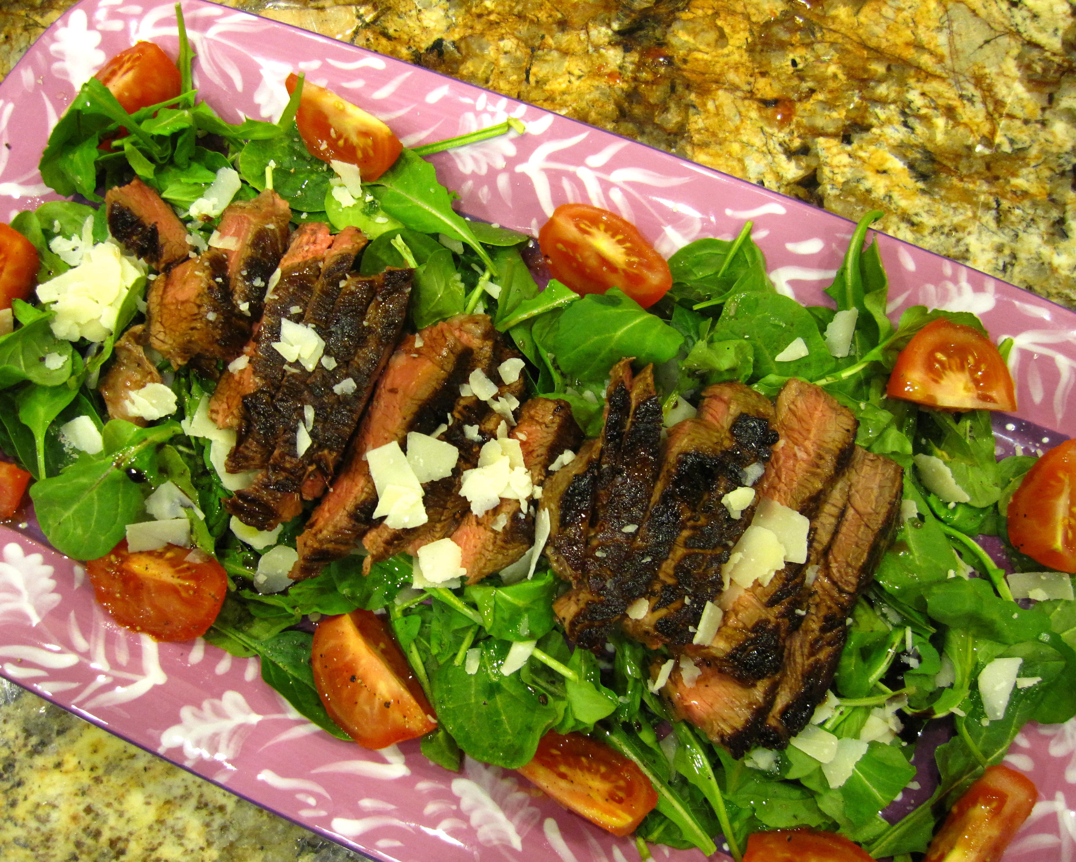 Arugula Salad Ideas Steak And Arugula Salad – a