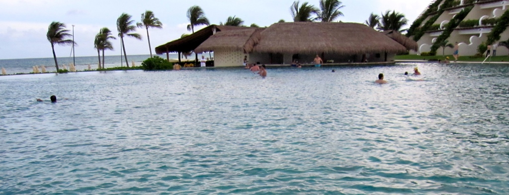 pool bar at the Grand Velas Riviera Maya