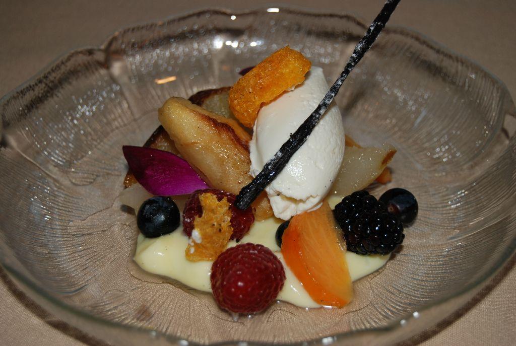 Chef Michael Moore's dessert