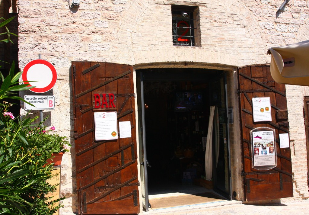 Enoteca in Spello Umbria Italy