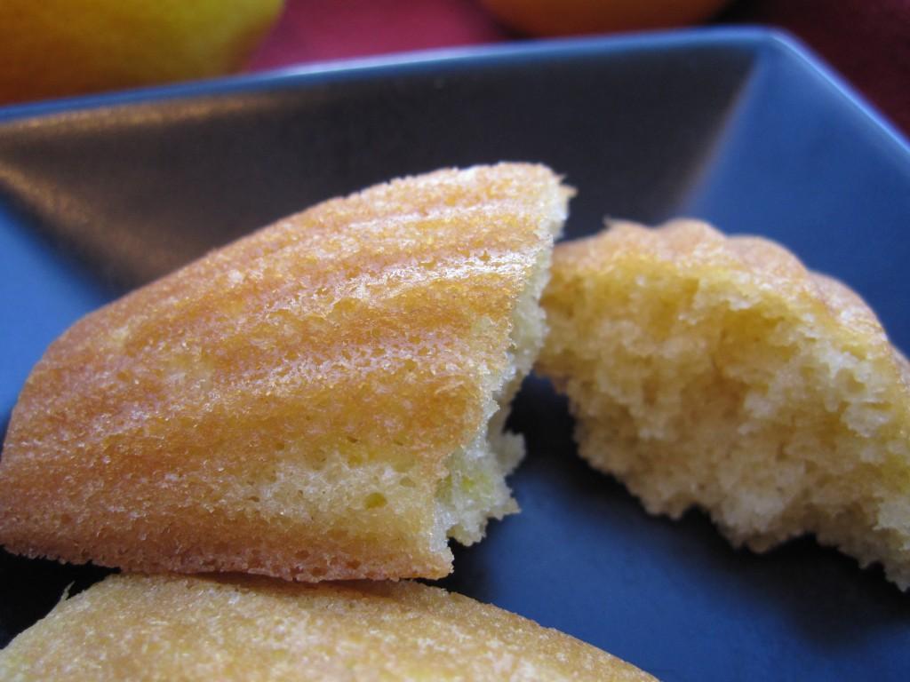 Baking Madeleines