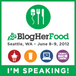 BlogHerFood 12 conference in Seattle